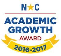 NC Academic Growth Award 2016-2017